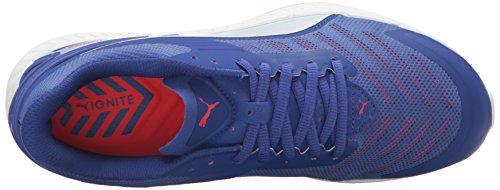 Puma Ignite V2 Synthétique Chaussure de Course Royal Blue-Red Blast