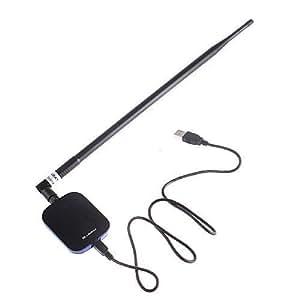BLUEWAY USB ANTENNE WIFI BT-N9500 WIFI N USB 18 dBi Antenne 18dBi 2000mW 2W BLUEWAY BT N 150Mbps Ralink RT3070 9500 2W POWER ADAPTER moniteur wifi N wifiway Beini audit