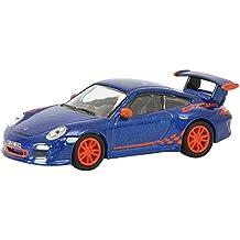 Porsche 911 GT3 RS 2010 dunkelgrau Modellauto 1:24 Lucky Die Cast 997 II