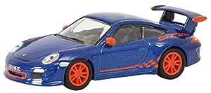 Schuco Porsche 911 (997) GT3 RS Car Model 1:87 - Modelos de Juguetes (Car Model, 1:87, Azul, Naranja, 14 año(s), Zinc, 1 Pieza(s))