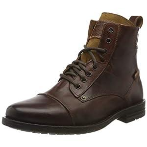 Levi's Footwear and Accessories Men's Emerson Biker Boots, Brown (Medium Brown 27), 7.5 UK