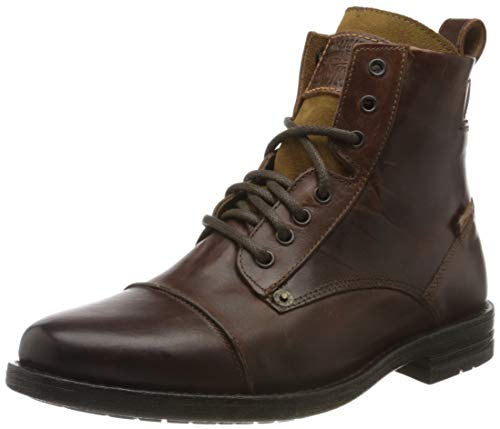 Levis Footwear and Accessories Herren Emerson Biker Boots, Braun (Medium Brown), 45 EU