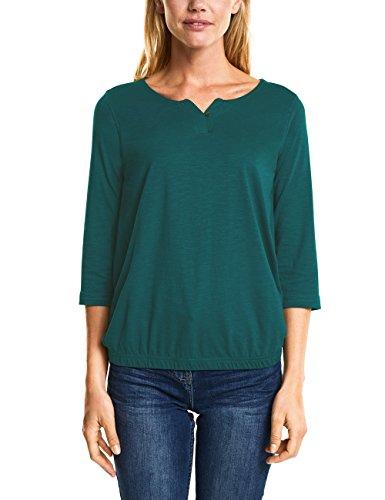 Cecil Damen T-Shirt 312447 Judith, Grün (Botanical Green 11487), Medium