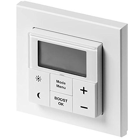Xavax Max! Wandthermostat für Max! System zur Heizungssteuerung von bis zu acht Heizkörperthermostaten