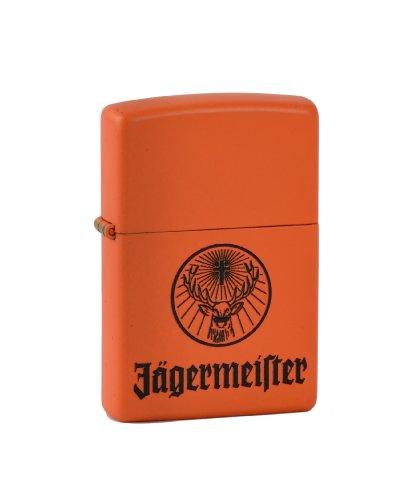 """Zippo 2.002.966 - Accendino """"Jägermeister"""", colore: Arancione opaco"""
