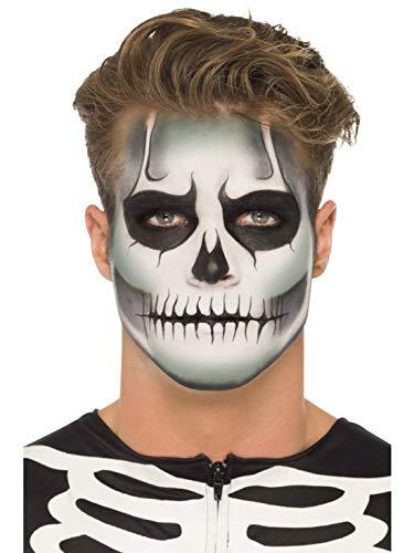 Halloweenia Kit Maquillaje Esqueleto Hombre Mujer