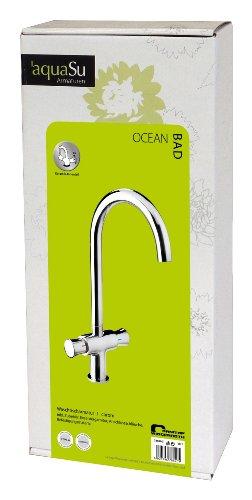 AquaSu – Waschbeckenarmatur, Zweigriffarmatur, Chrom, Ocean - 4