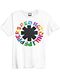 Amplified Red Hot Chilli Peppers Inca White Men's T-Shirt