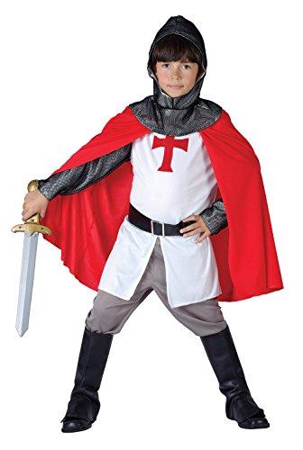 8, Kreuzritter Kostüm für Jungen, Größe S (110-122cm) ()
