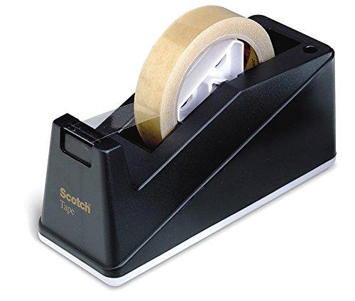 Scotch C10 Tischabroller für Klebefilm, bis Bandgröße 66 m x 25 mm schwarz