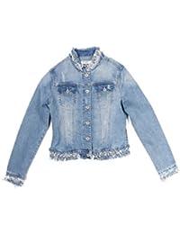 Amazon.it  Jeans perle - Giacche   Giacche e cappotti  Abbigliamento 6c050c427e3