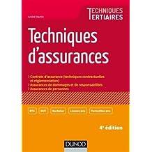 Techniques d'assurances - 4e éd.