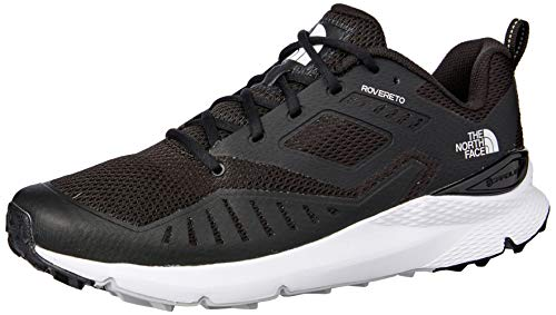The North Face M Rovereto, Scarpe Running Uomo, Nero Black/TNF White Ky4, 44.5 EU