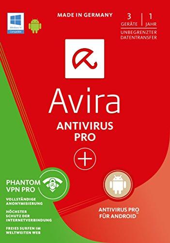 Avira AntiVirus Pro + Phantom VPN Pro