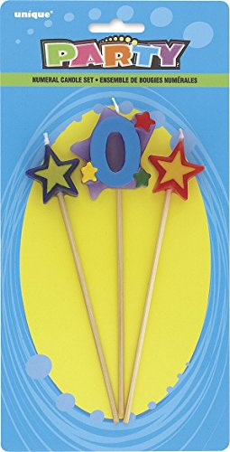 Stella-Compleanno-Candele-Set-di-3
