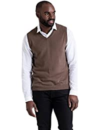 WoolOvers Pull sans manches - Homme - Cachemire & Coton