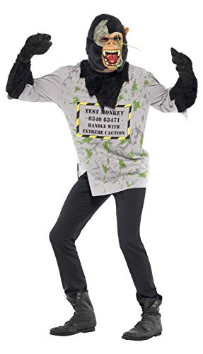 Mutantenaffe Halloween Gorilla Kost�m Gr. M ()