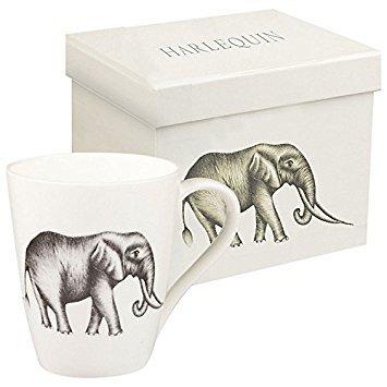 Harlequin Lagoon Savanna, diseño de elefantes
