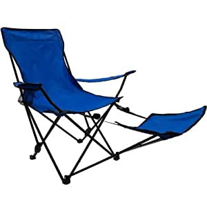 Grizzly Pyle DELUXE Campingstuhl, faltbar, B 78 x T 130 x H 95