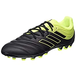 adidas Performance Kids' Messi 16.3 Turf Soccer Shoe (Little KidBig Kid), Dark GreyMetallic SilverNeon Green, 4.5 M US Big Kid