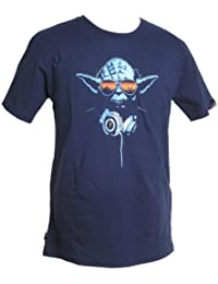Star Wars DJ Yoda T-Shirt, Marken Streetwear, mit Logoflag