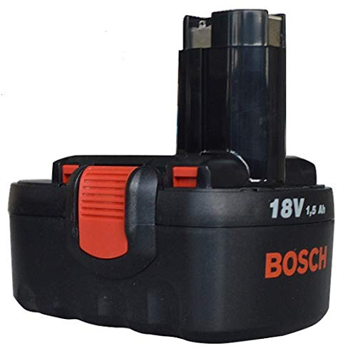 Genuine Bosch 18V Pod Style Battery To Fit: Bosch Cordless PSR 18V Drill/Driver and Bosch Cordless Art23 and 26 Accutrim Garden Trimmers by Bosch