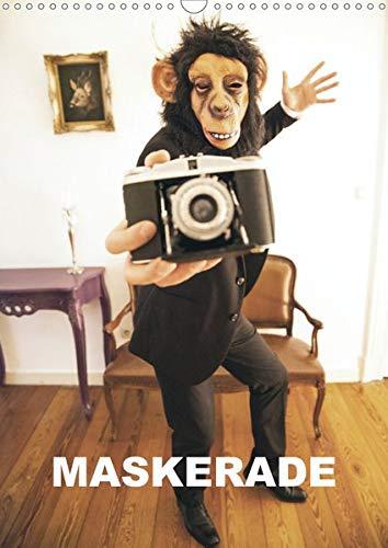 MASKERADE (Wandkalender 2020 DIN A3 hoch): Eine tierische Maskerade (Monatskalender, 14 Seiten ) (CALVENDO Kunst)