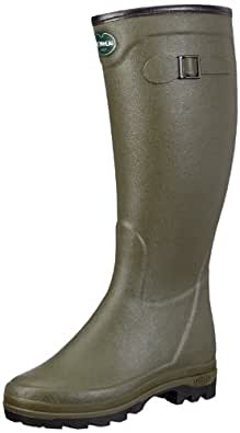 Le Chameau Womens COUNTRY LD NEO Boots Green Grün (Olive green 0296) Size: 3.5 (36 EU)