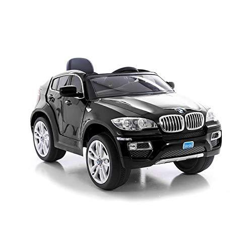 Elektrisches Auto für Kinder, BMW X6, Schwarz, offizielles Lizenzprodukt