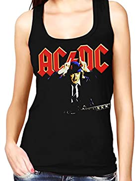 35mm - Camiseta Mujer Tirantes - Acdc - Ac/Dc - Angus Young - Women'S Tank Top