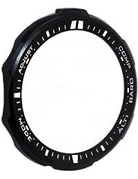 Casio Bisel Pro Trek Bisel de acero inoxidable IP Negro para prw de 3000