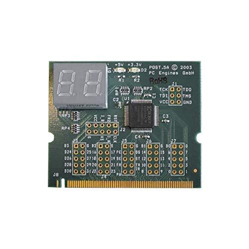 PC Engines - MiniPCI Post Code Display Post.5A1 ohne Test-Pins