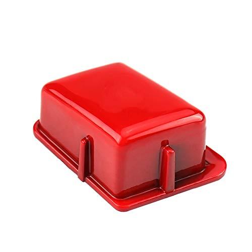 Lenkradschaltertaste, Auto Lenkrad M Modusschalter Knopfleiste für 3er E90 E92 E93 M3 2007-2013(rot)