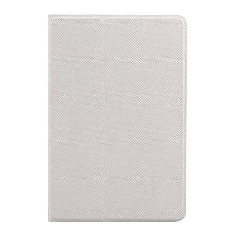 Cuitan Intelligente Rotation Coque Étui pour iPad Mini 4, Pure Couleur Design PU en cuir Flip Housse avec Sommeil / Réveil Automatique Fonction et Support Fonction Smart Housse de protection Protecteur Etui Case Cover pour Apple iPad Mini 4 - Blanc
