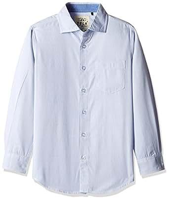 Sela Boys' Shirt (H-812/188-6311-83DU_Navy EN_10)