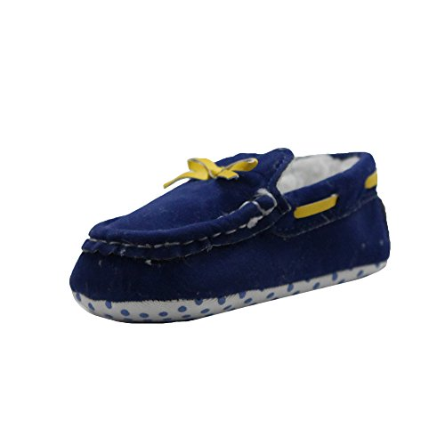Abdc kids Baby Boys' Blue First Walking Shoes - 13 Cm_Age - 6-12 Month