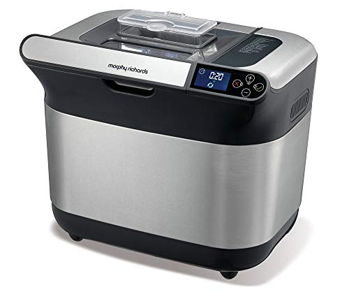 Morphy Richards 502000EE Premium Plus Brotbackautomat-Weiß-BPA-frei