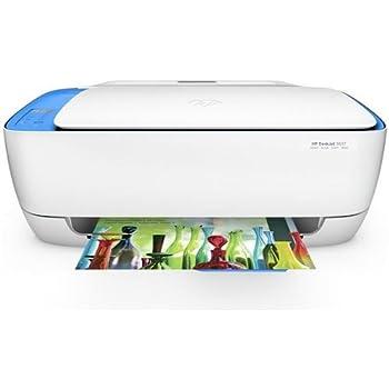 HP Deskjet 3637 Imprimante Multifonction Couleur WiFi- Éligible au Service HP Instant Ink - ((Inyección de tinta térmica, Color, Color, Color, No compatible, Negro, Cian, Magenta, Amarillo) couleur blanche