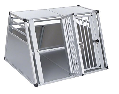 Aluline Robust and Lightweight Double Dog Crate - Safe and Comfortable Way to Transport Larger Dogs when Travelling by… 5