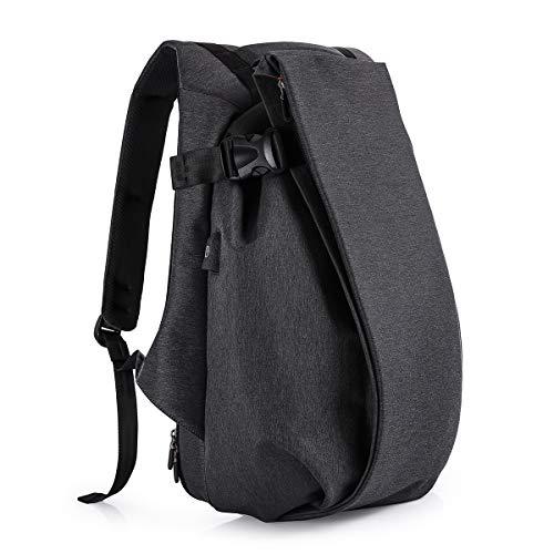 Tocode Laptop Rucksack Anti Diebstahl, 17.3 Casual Persönlichkeit Rucksack Reiserucksack, mit USB-Ladeanschluss, wasserdichte große Fach Computer Daypack für Männer Schule/Sport