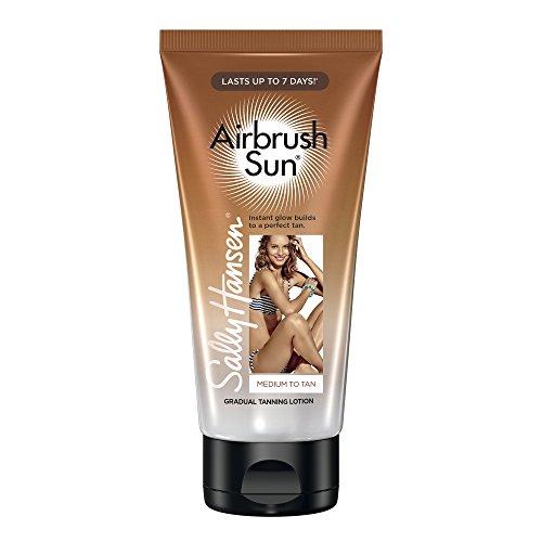 SALLY HANSEN Airbrush Sun Tanning Lotion - Medium To Tan -