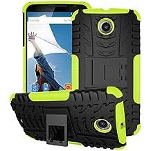 Casos hermosos, cubiertas, Mezclar el color del tpu&pc armadura resistente Caso del soporte para el nexo moto 6 / moto e (colores surtidos) ( Color : Rojo , Modelos Compatibles : Moto Nexus 8 )