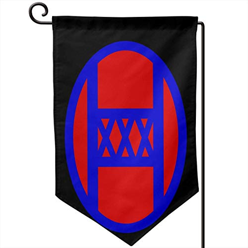 ghfghgfghnf US 30th Infantry Division Outdoor Flag for Advertising/Banner/Outdoor/Indoor/Activities/Home/Anniversary/Party/Decor/Holiday/Seasonal, Etc. (Ostern Cupcake Kit)