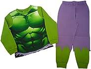 ragazzi incredibile Hulk pigiama 2–anni fino a 7–8anni