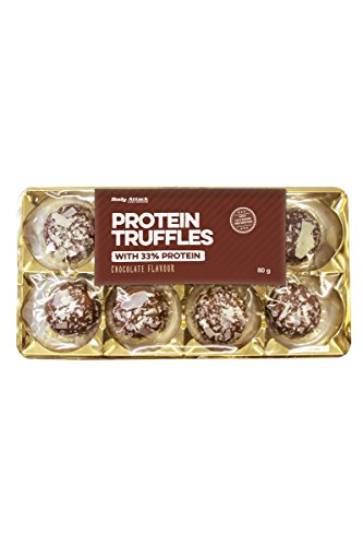 Body Attack Protein Truffles, 1er Pack (1x 80g) (Chocolate Flavour)