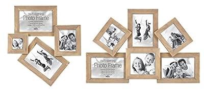 Madeira Antique Bilderrahmen für 4 oder 6 Fotos Galerie Foto Collage Rahmen