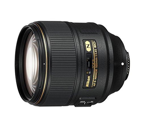 Nikon AF-S Nikkor 105 mm 1:1,4E ED Kamera-Objektive schwarz
