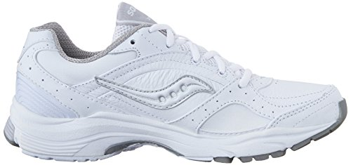 Saucony Running ProGrid Integrity St2, Basses Femmes White/Silver