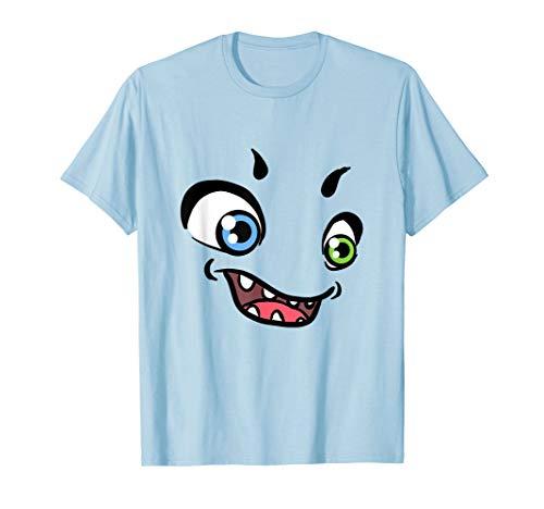Funny Monster Kostüm Halloween Shirt für Kinder - Monster Kostüm Frauen