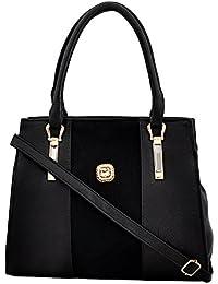Mark & Keith Women Black Handbag (MBG 0526 BK)